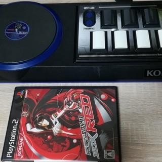 動作確認なし。PS2 ビートマニアⅡDX専用コントローラーとソフトセット
