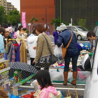 ◎「4月14日(土)ララガーデン川口」フリーマーケット開催