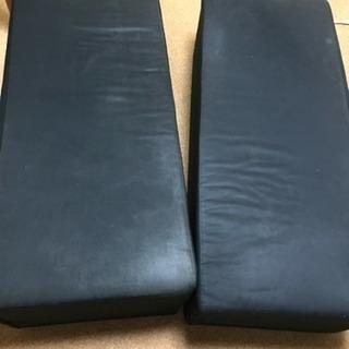 無印良品のブロックソファー