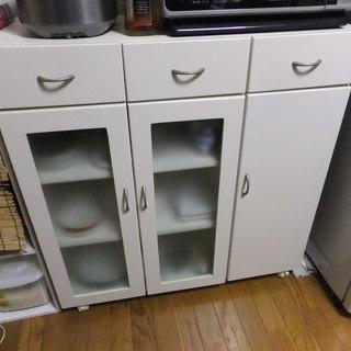 キッチンカウンター キッチンボード(食器棚)