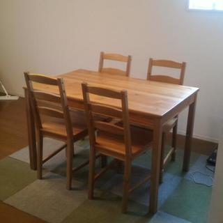 【IKEA】ダイニングテーブルセット JOKKMOKK