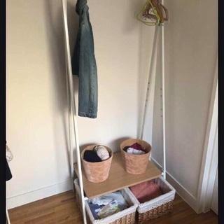 Nitori clothes storage+boxes