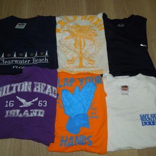 ◆アメリカ直輸入■プリントTシャツ6枚セット★M〜S  アメリカ直輸入