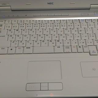 中古パソコンNEC LL750/L白15インチ★Windows10 - パソコン