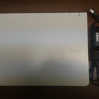 中古パソコンNEC LL750/L白15インチ★Windows10 - 売ります・あげます