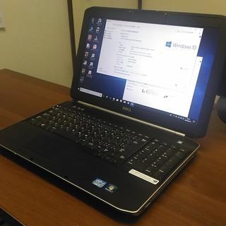 中古パソコンDELL Latitude E5520シルバー15インチ★Windows10 Corei5 - 和歌山市