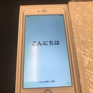 ソフトバンク iPhone6plusの美品 バッテリー交換済