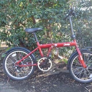 Jeepの折りたたみ 中古自転車 157