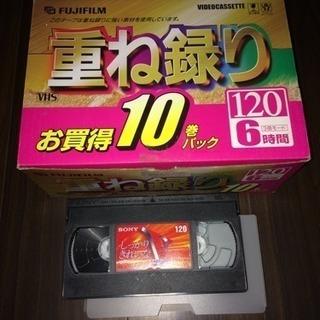 新品VHSビデオテープ