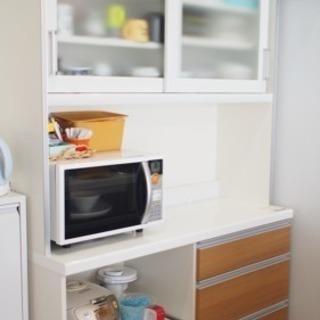 パモウナ w120 食器棚 レンジ台 キッチン