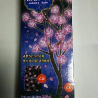 夜桜インテリアライト