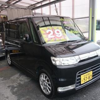 ダイハツタントカスタム★格安良い車輌多数展示