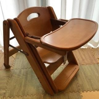交渉決定 ミーブル スライドチェア ベビーチェア 北川木工製