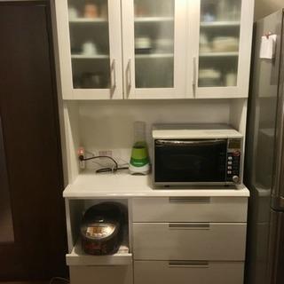 食器棚(レンジボード)ニトリ製