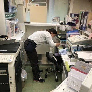 急募‼️綺麗な病院の日常清掃スタッフwワーク歓迎♪