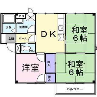 ★ 大家直 ファミリー向け住環境良好 3DK 自分好みの部屋作り ...