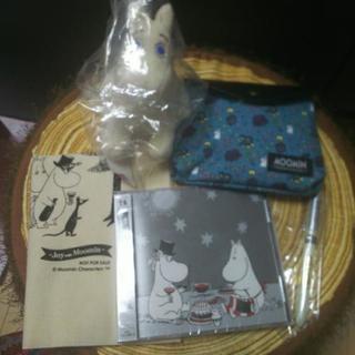 【未使用】ムーミングッズ5点セット(CD有り)
