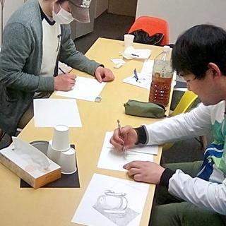 4月11日『本気のお絵かき教室』~代々木
