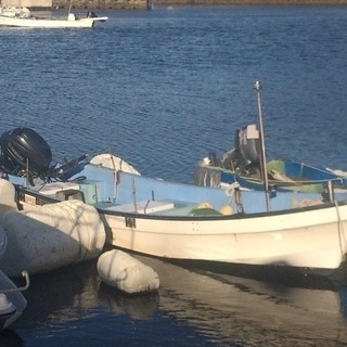 広島 廿日市 大野 漁船 ヤマハW-18 船外機30馬力 速いです