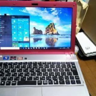 女子向き 自分パソコン ピンクなVAIO 11.6inch