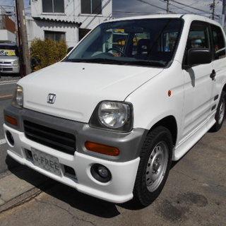 平成11年式 ホンダ Z ターボ 4WD フルエアロ フォグラン...