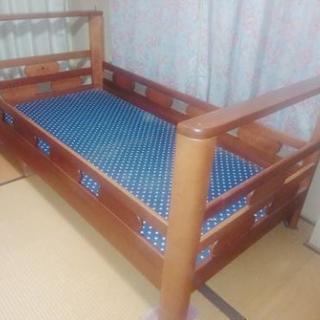 シングルベッド 無料で差し上げます!