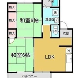 【3月末までキャンペーン】上越市春日山町アパート 2LDK 4.0...