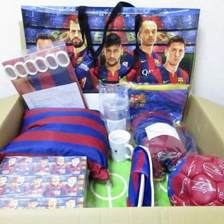 FCバルセロナのノベルティ日用品セット(約1万円相当)