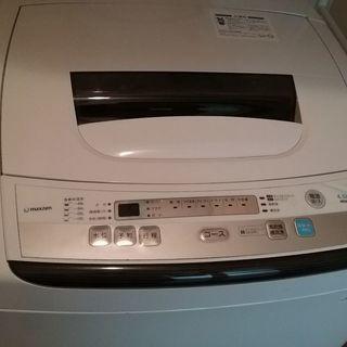 maxzen 洗濯機 4.5kg