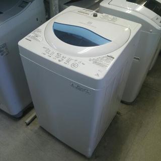 美品 2017年製 東芝 全自動洗濯機 5kg ステンレス槽 グ...