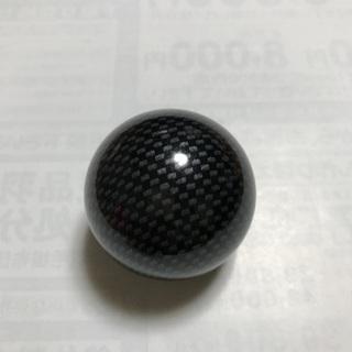 球型シフトノブ  カーボン柄