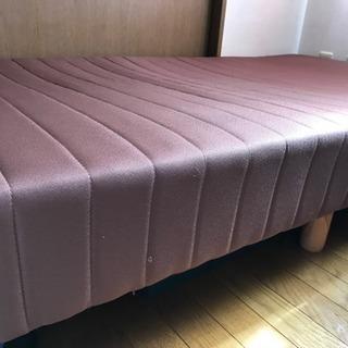 シングルベッド脚付きマットレス