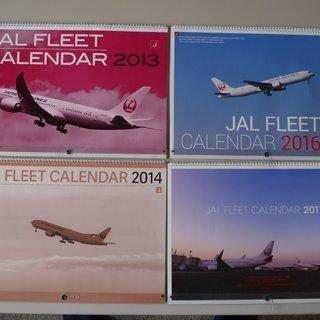 JAL FLEET CALENDAR 2013/14/16/17