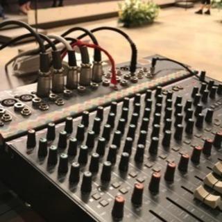 小規模音響承ります~発表会、講演会、各種イベント、ブライダル