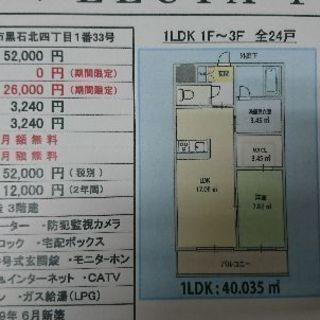 アパートの賃貸 新築即入居可能
