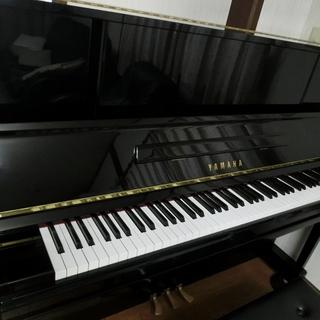 UX10Bl ヤマハ  YAMAHA アップライトピアノ X支柱 ...