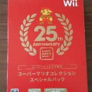 【ほぼ新品】Wiiソフト スーパーマリオコレクションスペシャルパ...