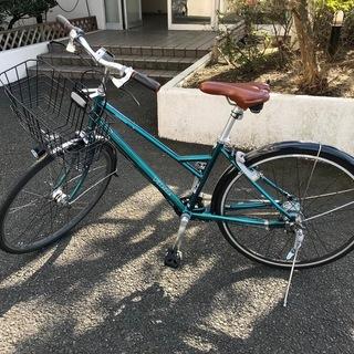自転車 ブリヂストン ベルトドライブ 27インチ 内装8段 VN...