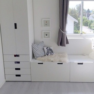 STUVA 収納ベンチ IKEA