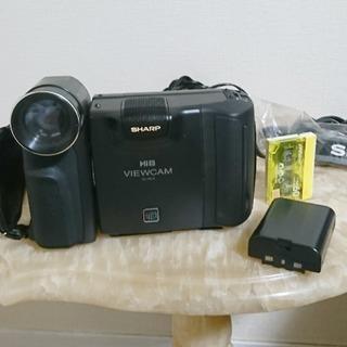 SHARP8ミリビデオカメラ