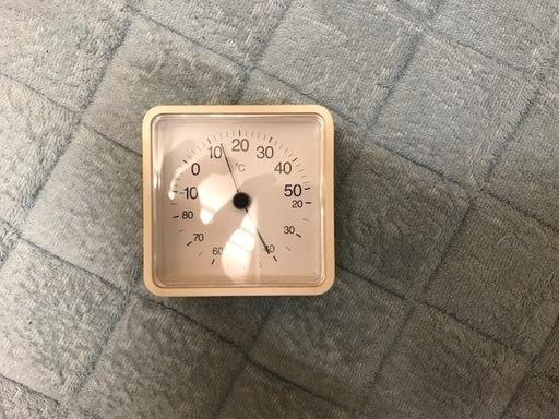 無印良品 コンパクト温湿度計 - 練馬区