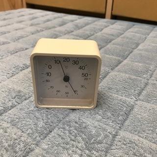 無印良品 コンパクト温湿度計 - 生活雑貨