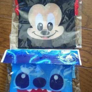 ⑩ディズニーミニ巾着袋2セット