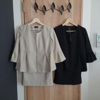 【新品未使用】マタニティスカートスーツ 2セット