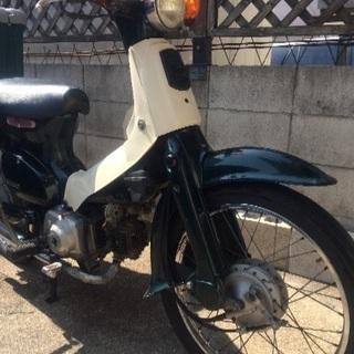 【受付終了】ホンダ スーパーカブ50 AA01型 原付バイク 日本製