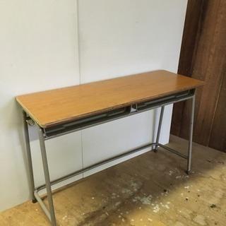 アンティーク 学校 机