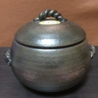 萬古焼 栗型ご飯用土鍋 5合炊