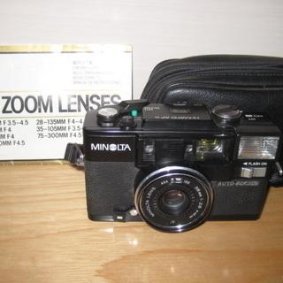 MINOLTAカメラ AF ZOOMLENSES