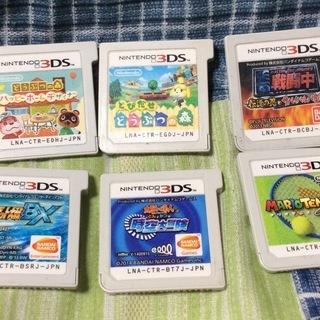 ばら売り可 3DS 6枚 スパロボ どうぶつの森 戦闘中 マリオ
