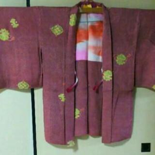 未使用 昭和レトロ 羽織り